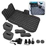 Zone Tech Car Inflatable Air Mattress Back Seat – Pump Kit Premium Quality