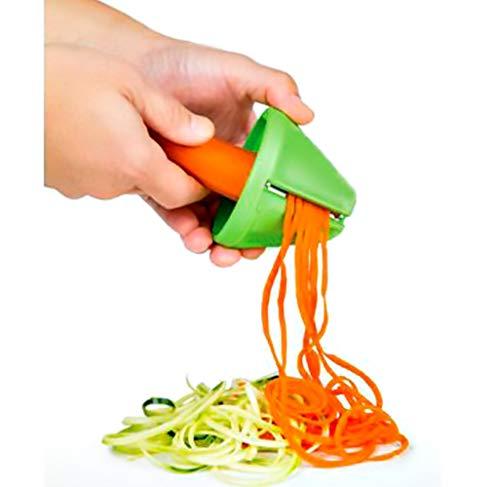 Espiralizador Minimalista Cortador de Verduras en Espagueti. Especial dietas Calabacín Verano Saludable.