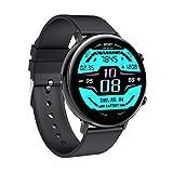 Smart Watch - Verratek Nimble 2 Smartwatch Fitness Tracker, IP68, IPS Touch Display Compatible with Android iOS, Watch for Men Women (Black + Black)