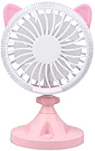 YXZQ USB Handheld Fan, Quiet Portable Clip Personal Mini Desk Fan with Rechargeble Battery, Cooling Desktop Fans Table Fan...