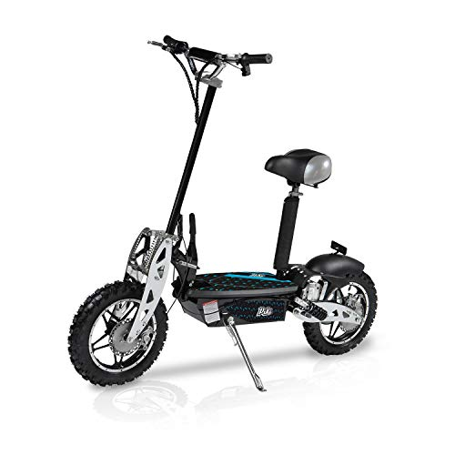 Piki Patinetes eléctricos Cross 1000W o 800W - Batería 36V12Ah - Norme CE – Plegables (1000 Watts)