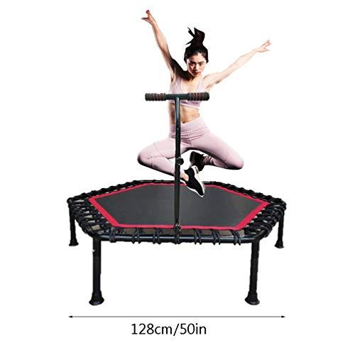 RY-Trampo Fitness Trampoline, Mini Elastische Touw Indoor Afvallen Buik Veiligheid Springen Gym Voor Volwassenen Kinderen