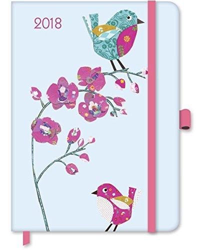 Cinnamon Aitch 2018 - Taschenkalender, Diary, GreenLine Kalender, Weekly Planner - 16 x 22 cm: Buchkalender - Wochenkalender - groß