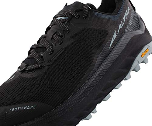 ALTRA Women's AL0A4VQW Olympus 4 Trail Running Shoe, Black/Light Blue - 9 M US
