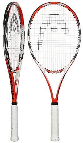 Head MicroGel Radical MP Raqueta de Tenis – Raqueta Intermedia para Adultos de 27 Pulgadas – 4 1/8 Agarre