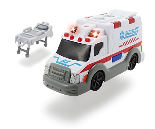 Dickie-Ambulancia Action Series 15cm 3302004 +3 años