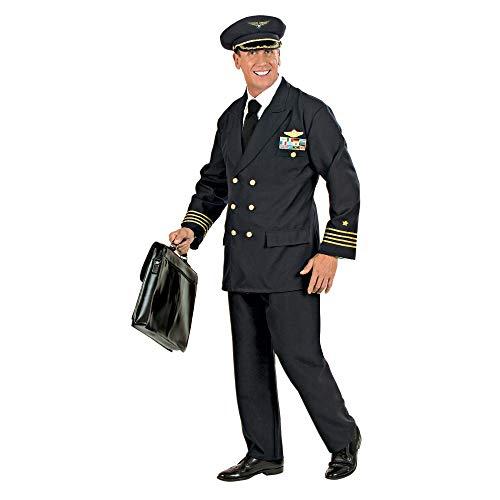Widmann- Déguisement - Costume Pilote, Mens, CS925773/XXL, Taille XXL