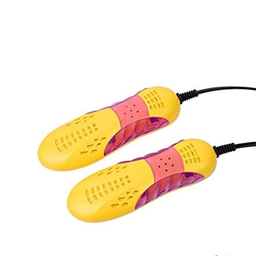 LTL Secador De Zapatos Eléctrico,Calentador De Zapatos Portátil, Secador De Zapatos Eléctrico con Efecto Desodorante, Esterilizante Y Deshumidificante