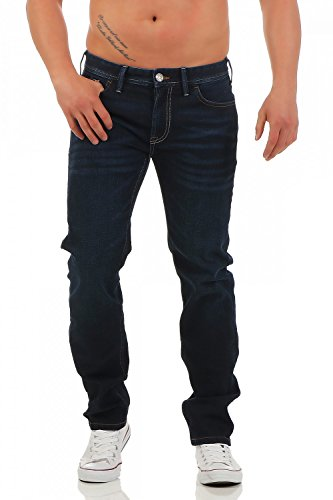 Big Seven Blake Dakota Wash Regular Fit Herren Jeans, Hosengröße:W48/L30