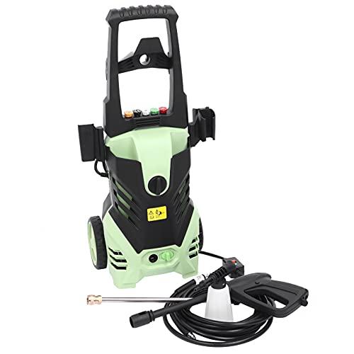 Högtryckstvätt integrerad rengöringsmedelstank, terrassrengöring, hushåll uterum, trädgårdsbevattning, golvtvätt eller trädgårdsrengöring, 220 V 1 800 W