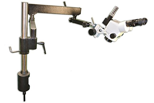 MEIJI TECHNO AMERICA EMZ-13TR+MA502+FS+FA-3 Trinocular Zoom Stereo Body, Eyepiece, Focus Block, Articulating Flex arm