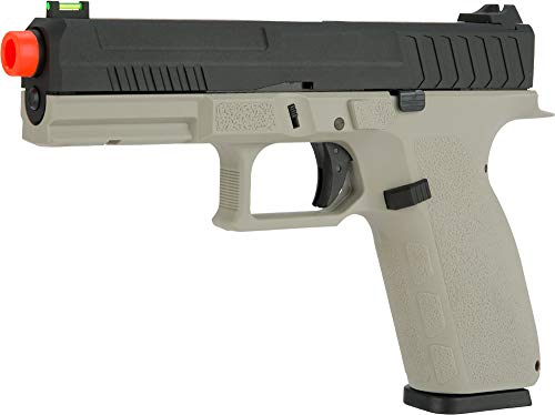 Evike KJW KP-13 Full Size Polymer Frame Gas Blowback Airsoft Pistol (Color: Grey)