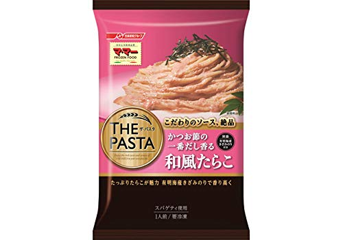 【冷凍】日清フーズ マ・マー THE PASTA かつお節の 一番だし香る 和風たらこ X6袋
