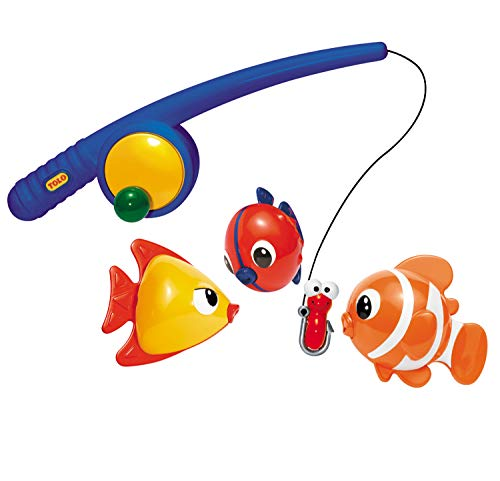 Bathtime fishing set for toddlers