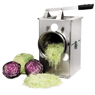 Harvest Fiesta USA Made Deluxe Stainless Steel Cabbage Shredder