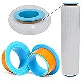 MASUNN 2Pcs Pellicola Estensibile Pallet Shrink Wrap Mano Saver Protector Dispenser...