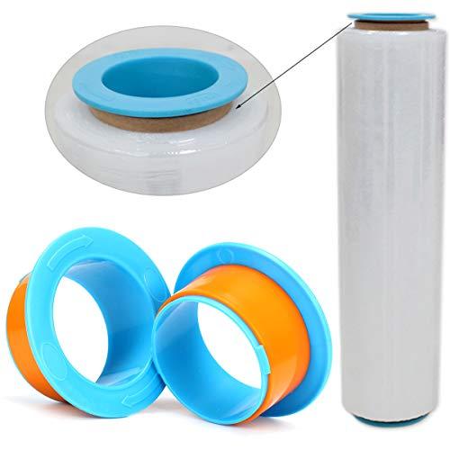 MASUNN 2Pcs Pellicola Estensibile Pallet Shrink Wrap Mano Saver Protector Dispenser