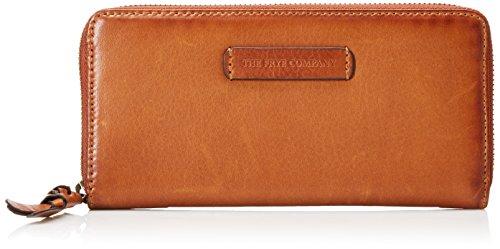 FRYE Women's Jenny Zip Wallet, Whiskey, One Size