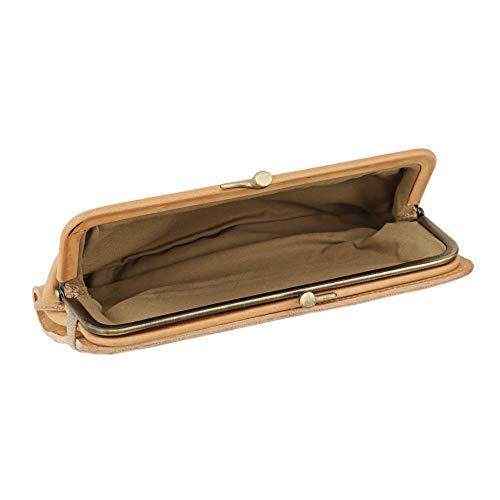 イルビゾンテ(ILBISONTE)長財布(ラウンドファスナー)C0671P120ヴァッケッタナチュラル[並行輸入品]
