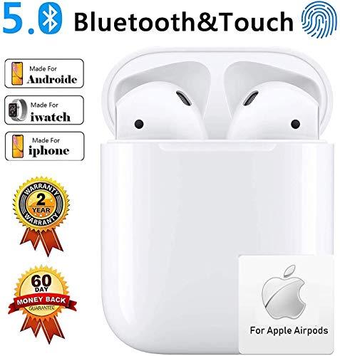 Kopfhörer Kabellos Bluetooth Kopfhor Noise Cancelling Kopfhörer für immersiven Klang mit 24H Ladekästchen und Mikrofon für Android/iPhone/Samsung in Ear kopfhörer Bluetooth kopfhörer iPhone