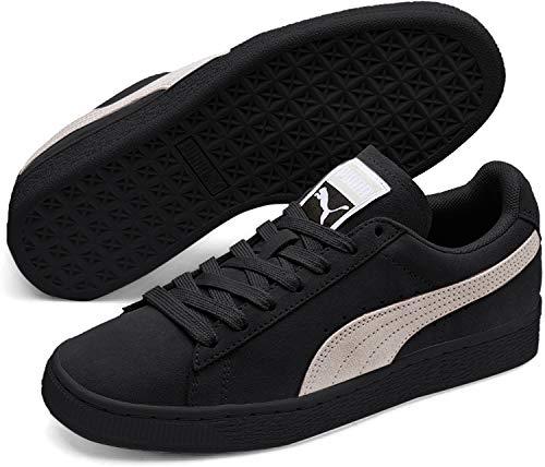 Puma Damen Suede Classic Wn's Sneaker, Schwarz (Puma Black-Pearl), 37 EU
