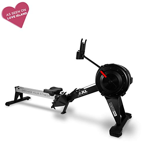 JLL® Ventus Pro Air Rower, Commercial Rowing Machine, 10 Levels of Air Resistance, Heavy Duty, 11...