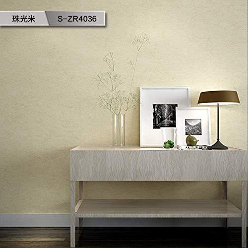 Papel pintado liso de arroz para salón, estilo nórdico, no tejido, S-ZR4036, medidor de luz de perlas, 6 planos, solo para venta de papel pintado
