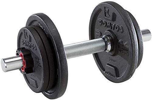 Suge Conjunto de Equipos mancuerna Gimnasia Bíceps Entrenamiento del Peso 10Kg mancuerna Ajustable Peso Desmontable con Barra Inicio Deportes Equipos de fortalecimiento
