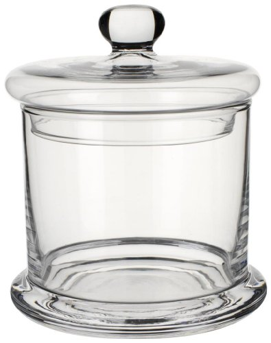 Villeroy & Boch Retro Accessories Vorratsdose, Glas, Transparent, 130 mm