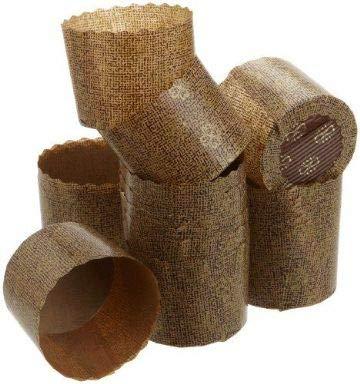 Bakery Direct Panettone-Formen aus Papier, 60 x 45 mm, 50 Stück