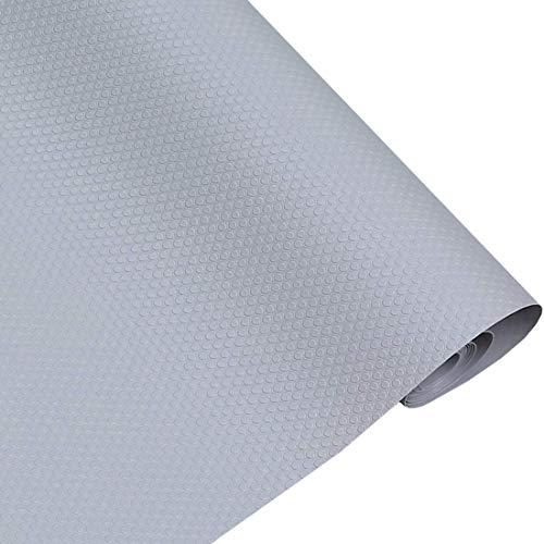 Rollo de Forro Impermeable de etilvinilacetato para cajones de Nevera, Cocina, baño, armarios, cajones, armarios (Gris)