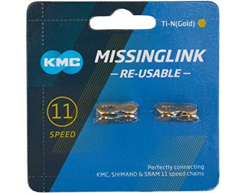 KMC Missing Link 11-Speed Titanium Gold (Blue)