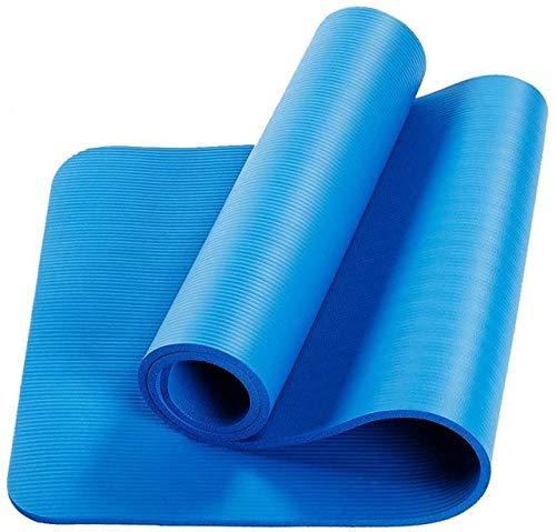N / A 1830 * 600 * 10 mm Fitness Mat EVA Grueso Durable Antideslizante Yoga Mat para Hombres Mujeres Ejercicio Fitness Pad Yoga Gimnasia Mat Deporte Gimnasio 183x60x1CM