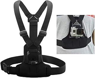 Andoer Einstellbare Brustgurt Halterung elastische Auffanggurt Brustgurt Berg Band Gürtel Zubehör für Sport Kamera GoPro Hero 4/3 + / 3 / 1.2 SJCAM