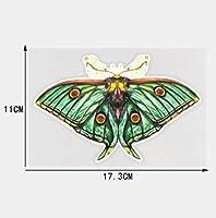 4個の車のステッカー17.3×11CM蝶の漫画のステッカー車の装飾デカール