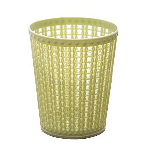 Desktop Litter Trash For Car Desktop Office Waste Bin Small Trash Can Mini Desktop Litter Trash -Green
