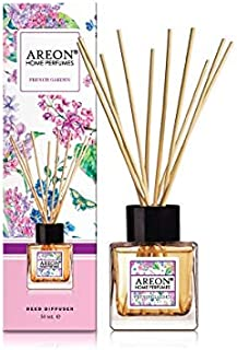 AREON Home Perfume Reed Diffuser 50 ml 10 Rattan Reeds - French Garden