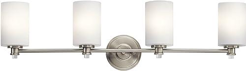 new arrival Kichler 45924NI Four Light discount outlet online sale Bath outlet online sale