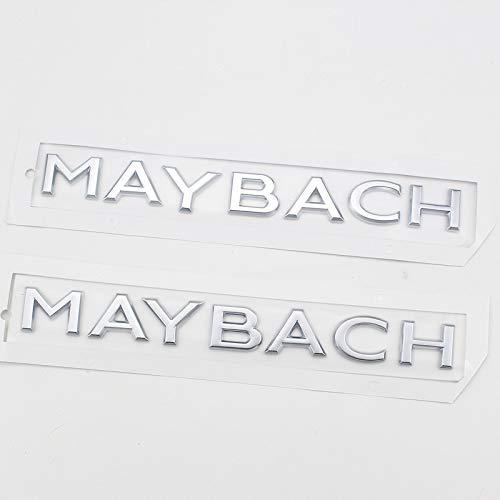 Switch Logo-Abzeichen-Emblem-Auto-Aufkleber für Mercedes Benz Maybach Maybach Buchstaben Auto-Aufkleber-Rück Box Etikett Letters