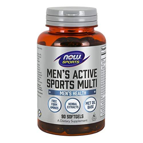 Now Foods Men's Extreme Sports Multivitamin, 90 sgels