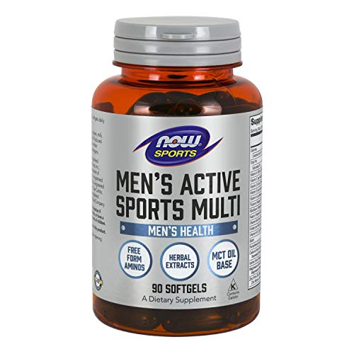 NOW Uomo Active Sport Multi Supplemento Per Uomo 90 Softgels - 90 g