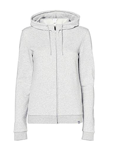 CARE OF by PUMA Kapuzenjacke für Damen aus Frottee, Grau (light grey), 38, Label: M