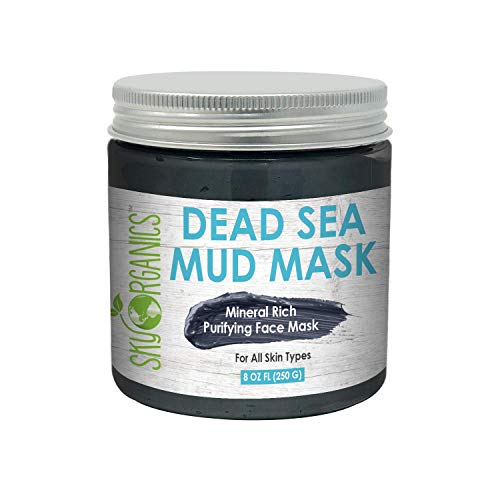 Sky Organics Dead Sea Mud Mask Dead Sea Facial Mask...