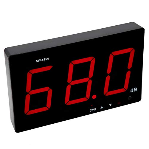 Misuratore di livello sonoro, misuratore di decibel SW-525A,