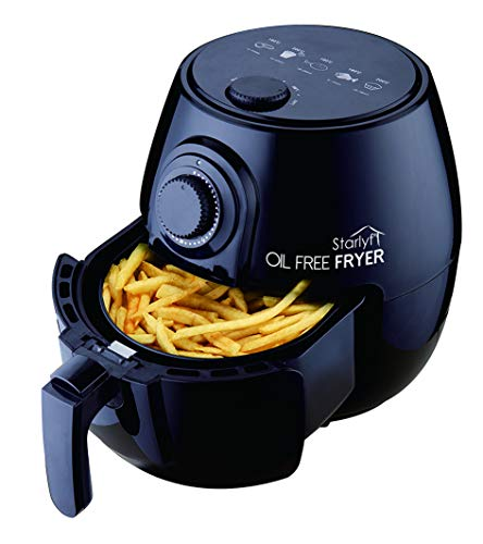 STARLYF Best Direct Oil Free Fryer Freidora de Aire Caliente Sin Aceite con Temperatura Ajustable 3.8L Capacidad 1400W
