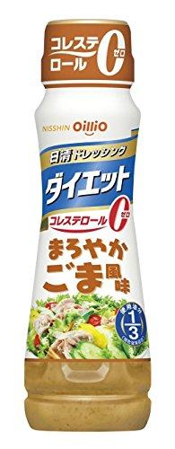 日清 ドレッシング ダイエット まろやかごま風味 185ml ×12個
