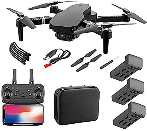 JJDSN 4DRC F4 GPS Drone con cámara 4K para Adultos Quadcopter con 5GHz FPV Video en Vivo GPS Regreso a casa Motor sin escobillas Sígueme 45 Minutos Tiempo de Vuelo Estuche de Transporte