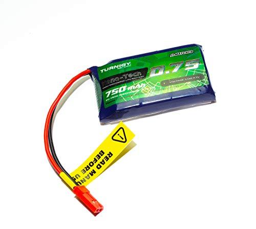 Eva Shop Turnigy Nano-Tech Plus 750 mAh 1s 70c – 150 C – Batteria Lipo con spina JST