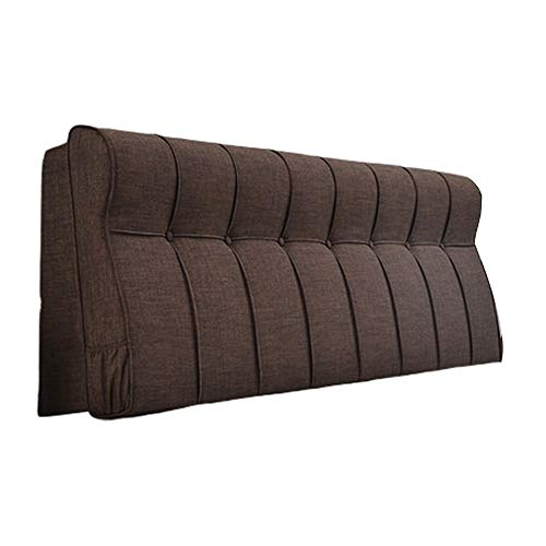 LJHA baozhen Headrest Cushion, Positioning Support Removable Headboard Cushion Can Be Washed Easily Clean Breathable Non-deformation Reading Pillow (Color : Style1, Size : 120cm)