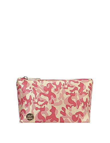 Mi-Pac Make Up Bag Trousse à Maquillage, 19 cm, Rose(Metal Camo G P)
